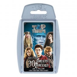 WINNING MOVES - JEU DE CARTES TOP TRUMPS HARRY POTTER