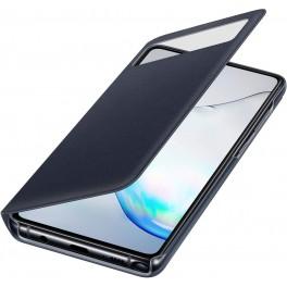 SAMSUNG NOTE 10 LITE S VIEW WALLET BLACK COQUE DE PROTECTION POUR TÉLÉPHONES PORTABLES NOTE 10 LITE S VIEW WALLET BLACK, NOTE 10