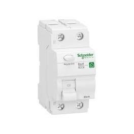 SCHNEIDER ELECTRIC 1334359 DISJONCTEUR DIFFÉRENTIEL RESI9 1P+N 40A 30 MA TYPE A BLANC R9R22240