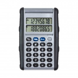 CALCULATRICE EURO DOUBLE AFFICHAGE CLIP SONIC TECHNOLOGY 736G